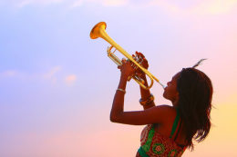 Blow your creative energies into a trumpet - with Manhattan music lessons