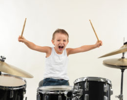 No Sounds of Silence with Brooklyn Drum Lessons
