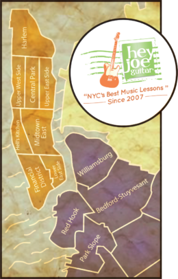 Manhattan and Brooklyn Music Lessons