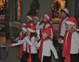 Children's Choir Signs Christmas Songs