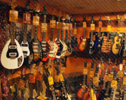A variety of Guitars for Sale
